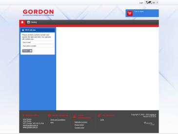 Gordon LT, centrinis sandėlis, UAB