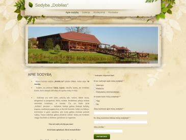 Dobilas, kaimo turizmo sodyba