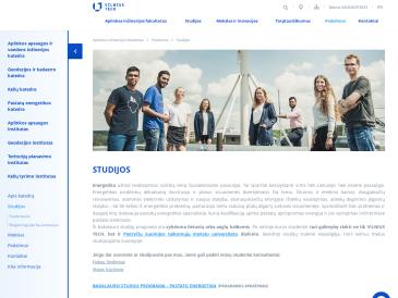 Vilniaus Gedimino technikos universitetas, Aplinkos inžinerijos fakultetas, Pastatų energetikos katedra