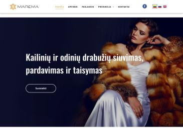 Marema, kailinių - odinių rūbų prekyba
