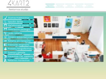 4kart2, reklamos studija