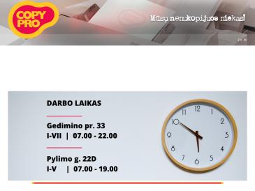 Copy Pro, UAB