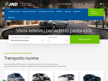JND, autobusų, mikroautobusų nuoma Klaipėdoje, UAB