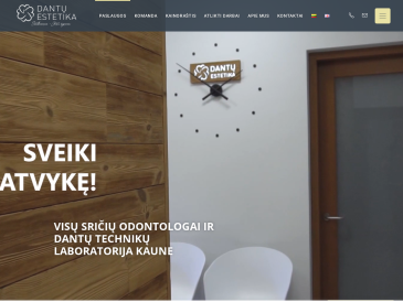 Dantų estetikos klinika, UAB