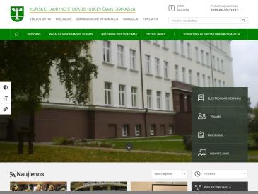 Kupiškio Lauryno Stuokos-Gucevičiaus gimnazija