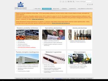 Statybos produkcijos sertifikavimo centras, VĮ, SPSC