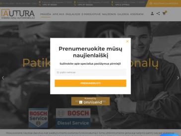 Autura, IĮ, parduotuvė-dyzelių servisas, Vilniaus filialas