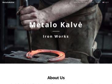 Metalo kalvė