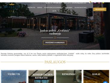 """Grafaitė, viešbutis-baras, UAB """"Grafaitė"""""""