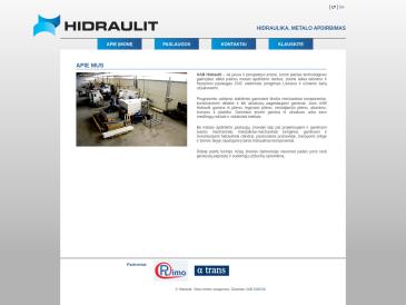 Hidraulit, UAB