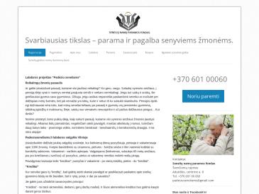 Senelių namų paramos fondas