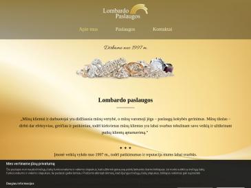 Auksinis garantas, lombardas, UAB