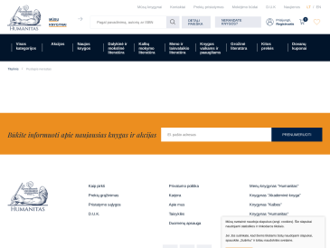 """Akademinė knyga, knygynas, UAB """"Humanitas"""""""
