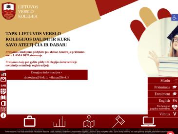 Lietuvos verslo kolegija, VšĮ Vilniaus mokymo skyrius