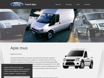 TRANSIT, FORD automobilių dalys, E. Šalčio firma