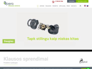 Opera - klausos sprendimai, Kauno filialas, UAB