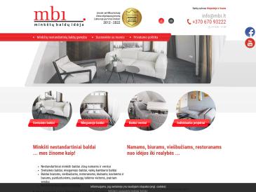MBI minkštų baldų idėja