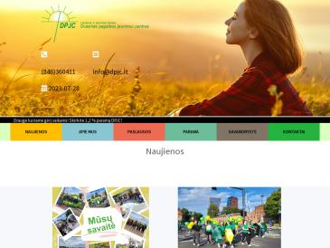 Labdaros ir paramos fondas, Dvasinės pagalbos jaunimui centras (DPJC)
