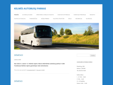 Kelmės autobusų parkas, UAB