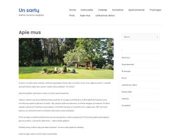 Un Sartų, kaimo turizmo sodyba