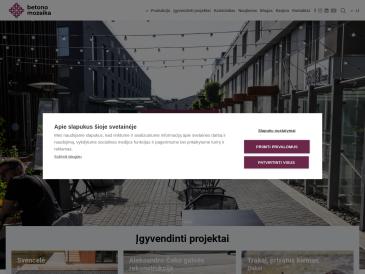 Betono mozaika, UAB, Vilniaus pardavimų skyrius