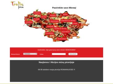 Trolių pica