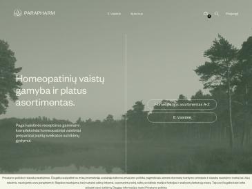 Parapharm, homeopatijos vaistinė, UAB