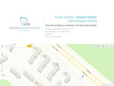 Visagino odontologijos klinika, UAB