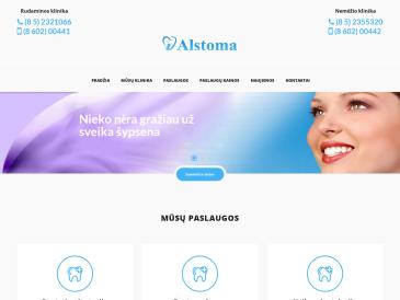 Alstoma, odontologijos klinika, UAB