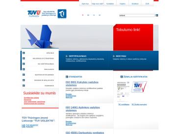TUV UOLEKTIS, bendra Lietuvos - Vokietijos įmonė, UAB