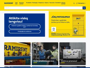 Ramirent, Vilniaus I įrangos padalinys