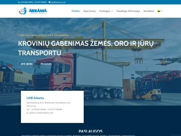 Arkama, sandėliavimo-krovos paslaugos, UAB