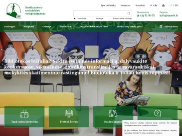 """Šiaulių miesto savivaldybės viešoji biblioteka, """"Spindulio"""" filialas"""