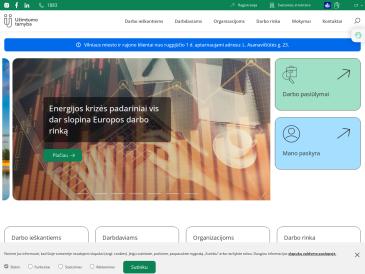 Užimtumo tarnyba prie Lietuvos Respublikos socialinės apsaugos ir darbo ministerijos, Vilniaus klientų aptarnavimo departamento jaunimo užimtumo skyrius