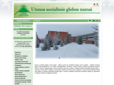 Utenos socialinės globos namai