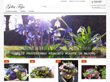 Gėlių fėja, gėlių salonas