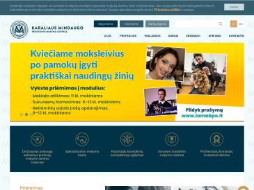 Karaliaus Mindaugo profesinio mokymo centras, socialinių paslaugų skyrius, VšĮ
