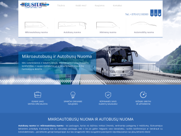 Busita, mikroautobusų nuoma, UAB
