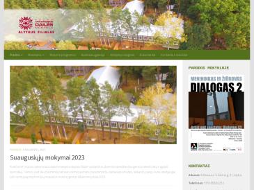Kauno taikomosios dailės mokykla, Alytaus filialas