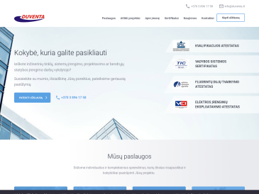 Duventa, Vilniaus skyrius, UAB