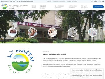 Molėtų r. pirminės sveikatos priežiūros centras, VšĮ