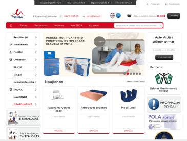 """SVEIKATOS REIKMENYS parduotuvė Vilniuje, UAB """"Teida"""""""