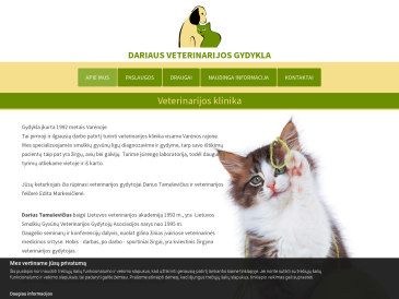 Dariaus veterinarijos gydykla