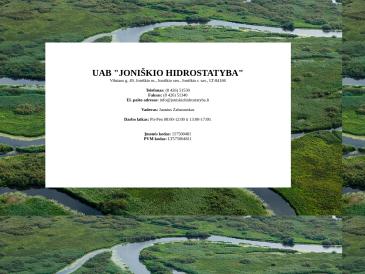 Joniškio hidrostatyba, UAB