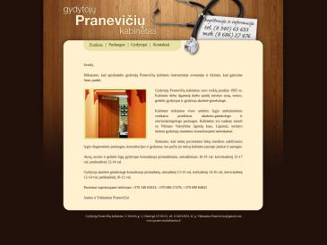 Gydytojų Pranevičių kabinetas