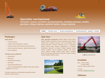 Specialūs mechanizmai, UAB