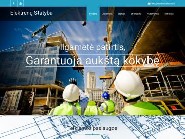 Elektrėnų statyba, UAB
