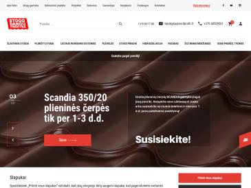 """Stogo dangų prekyba, Vilniaus filialas, UAB """"Nord profil"""""""