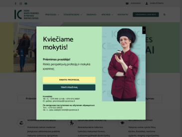 Kauno maisto pramonės ir prekybos mokymo centras, suaugusiųjų profesinio mokymo skyrius
