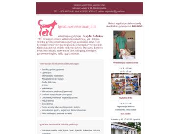 Ignalinos veterinarinė vaistinė-gydykla, UAB